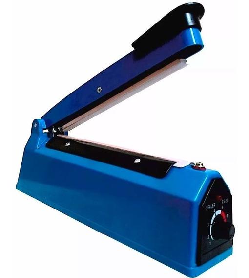 Maquina Selladora Bolsas Plastico Impulso 30cm Térmica Sella
