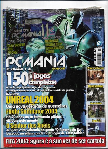 Pc Mania Game Over 11 Revista Com Cd 150 Super Jogos Complet