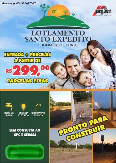 Terreno Para Venda Em Cuiabá, Pedra 90, 1 Dormitório, 1 Banheiro - 523_1-1438935