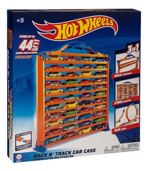 Brinquedo Pista Porta Carrinho 3 Em 1 Fun Hot Wheels