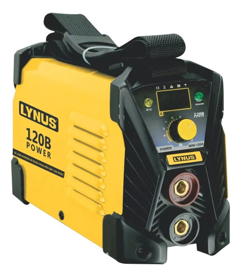 Maquina De Solda Inversora Lynus Lis-120 Power 120a Bivolt