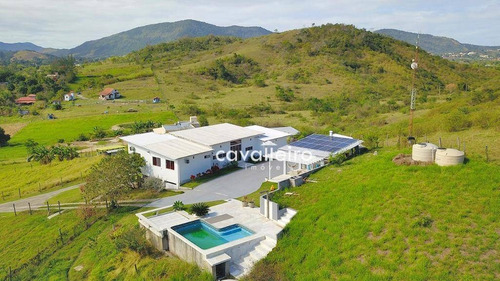 Chácara Com 4 Dormitórios À Venda, 7mil M²- Ubatiba - Maricá/rj - Ch0069