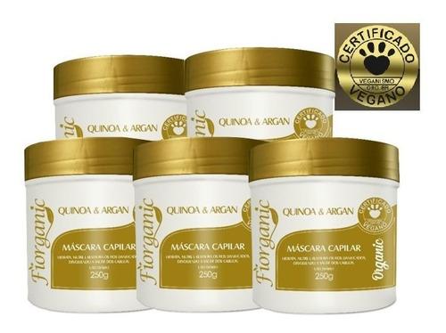 Máscara Quinoa E Argan 250g - Forganic- 05 Unidades - Vegano