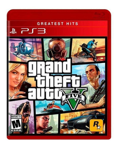 Imagen 1 de 10 de Grand Theft Auto Gta V 5 Ps3 Fisico Sellado Origina Playking