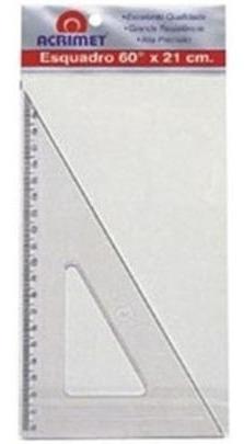 Esquadro 60x21 Cm Poliestireno