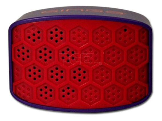 Bocina Mini Bluetooth Ginga Urban Gi16boc01bt-rm