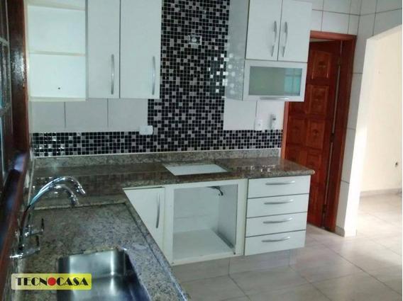 Casa Com 2 Dormitórios Para Venda E Locação, 75 M² Por R$ 1.400/mês - Vila Tupi - Praia Grande/sp - Ca2178