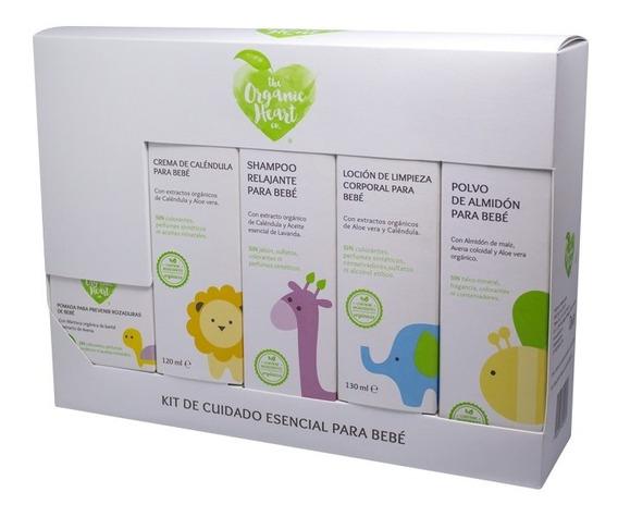 Kit Para Cuidado De La Piel De Bebé The Organic Heart Co