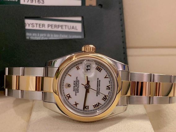 Rolex Datejust Lady Aço E Ouro , Modelo Novo , Completo!!