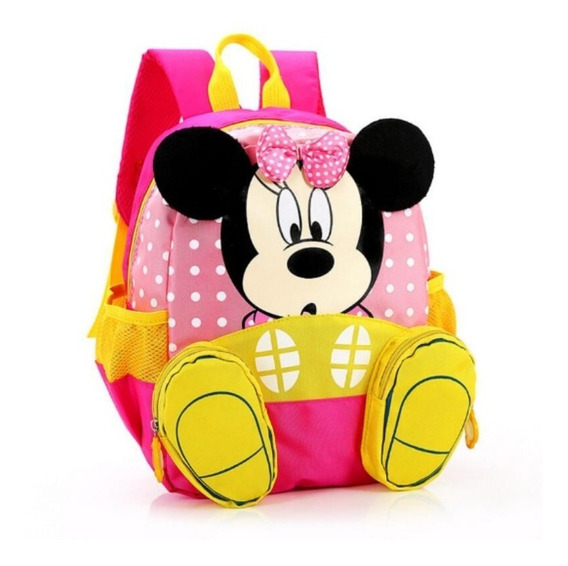 Mochila Escolar Minnie Disney Infantil Jardim Infância