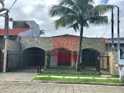 Imagem 1 de 24 de Casa Com 3 Dormitórios À Venda, 144 M² Por R$ 600.000,00 - Cibratel - Itanhaém/sp - Ca1339