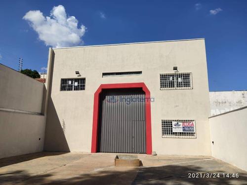 Barracão Para Alugar, 270 M² Por R$ 2.800,00 - Igapó - Londrina/pr - Ba0082
