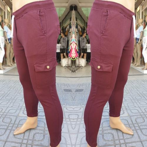Pantalón Cargo Con Cordón