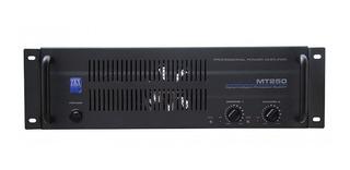 Potencia Zkx Mt250 130w X Canal 4 Ohms