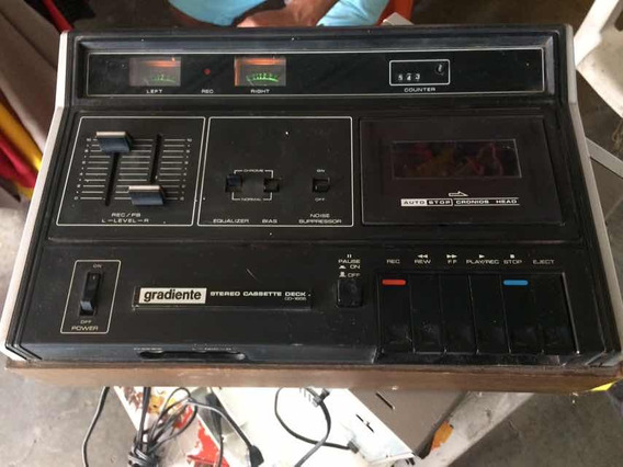 Rádio Gravador Antigo Gradiente Cd 1655