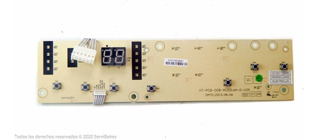 Placa Plaqueta Interfase Display Gafa 6505 7500 Original