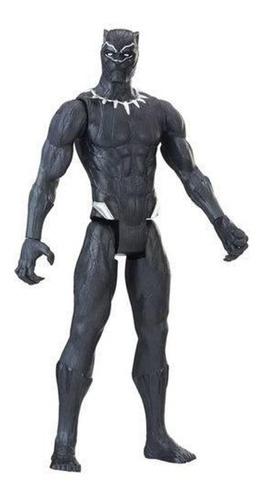 Imagem 1 de 2 de Boneco Pantera Negra Vingadores/avengers 30 Cm - Hasro E7876