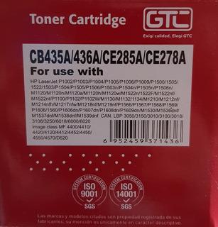 Cartucho Toner 35a 36a 85a 78a
