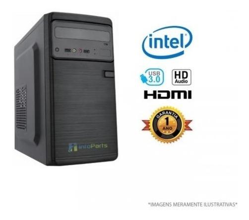 Computador Home Ofice Intel J1800 - 4gb Ram, Hd 500gb