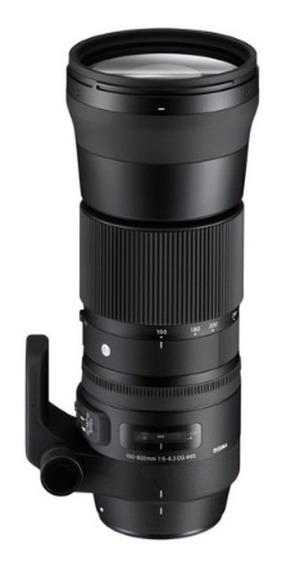 Lente Sigma 150-600mm F5-6.3 Dg Hsm Contemporary Para Nikon