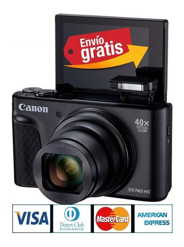Camara Canon Sx740 Compacta 4k Wifi - 40x Zoom 20,3mpx Hdmi