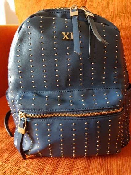 Mochila Marca Xlarge Azul - Impecable - Como Nueva!! $1800