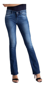 Calça Jeans Levis 715 Bootcut Fem Azul Médio