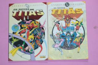 Hq Os Novos Titas - Grandes Classicos Dc Volumes 1 E 2