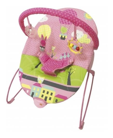 Mecedora Silla Bebe Kiddy Con Juguetes Vibracion Babymovil