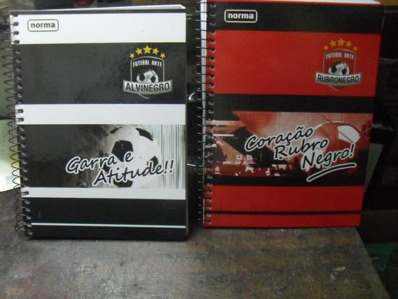 Caderno 10 Materias 200 Fls Do Flamengo Ou Botafogo