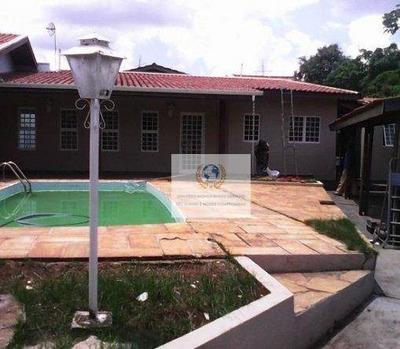 Casa Residencia Em Barão Geraldo À Venda: Residencial Burato, Campinas. - Ca0481