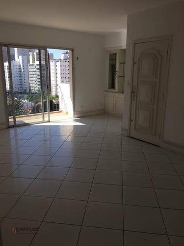 Apartamento Com 3 Dormitórios À Venda, 114 M² - Moema Pássaros - São Paulo/sp - Ap1612
