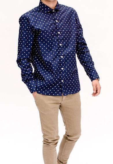 Camisa Con Estrellas Hombre Romana