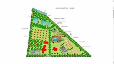 Rancho Rural Para Venda E Locação, Shinoda, Porto Feliz. - Si0004