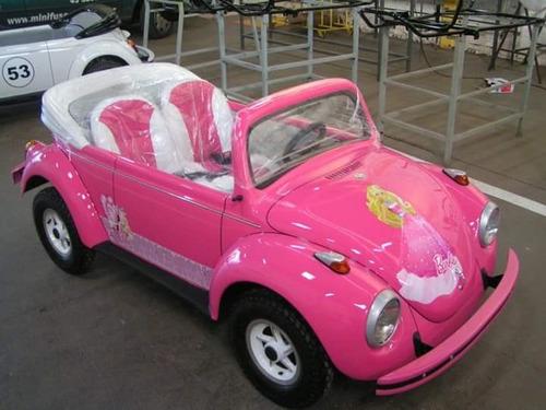 Mini Fusca Barbie / Buggy / Motorizado 2021