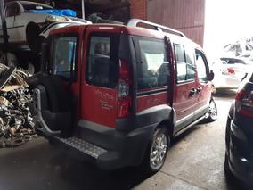 Fiat Doblo 1.8 16v Adventure Flex Sucata Para Peças