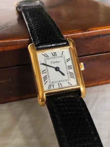 Relógio Cartier Original 18k - Tank Louis - Corda Manual