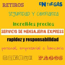 Servicio De Mensajeria Express, Envios, Encomiendas, Pagos