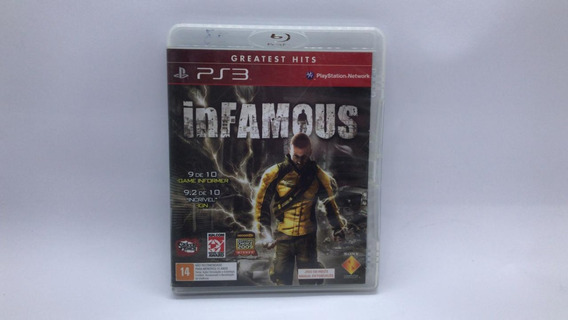 Infamous - Ps3 - Midia Fisica Em Cd Original