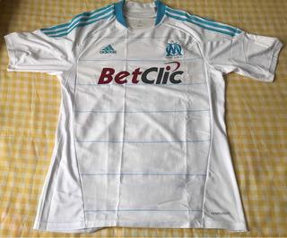 Camisa Futebol Olympique Marselha Oficial - adidas - Tam G