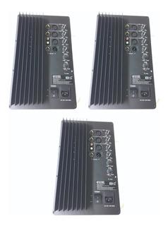 3 Modulos Amplificados 200 W Rms Ideal Rockolas Bafles