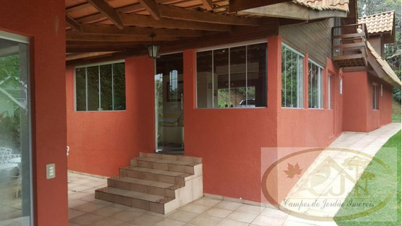 Casa Em Condomínio Para Venda Em Santo Antônio Do Pinhal, Pico Agudo, 4 Dormitórios, 3 Banheiros - 211_2-731074