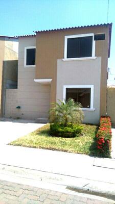 Se Alquila Bonita Casa En La Joya --ambar -$$400