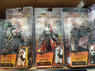 Figura Kratos God Of War Playstation Neca Toys