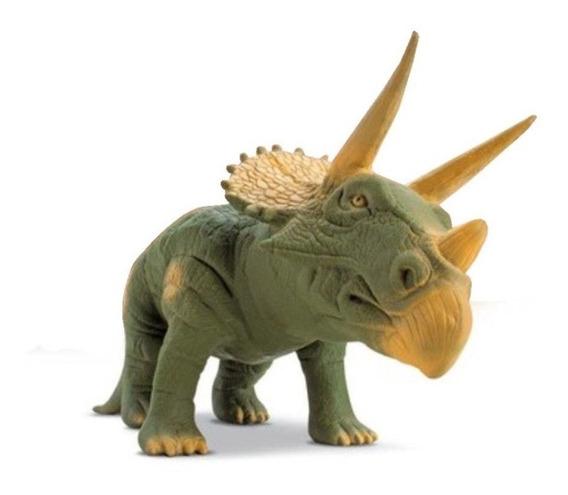 Dinossauro Triceratops Borracha 36 Cm Rinoceronte Rex