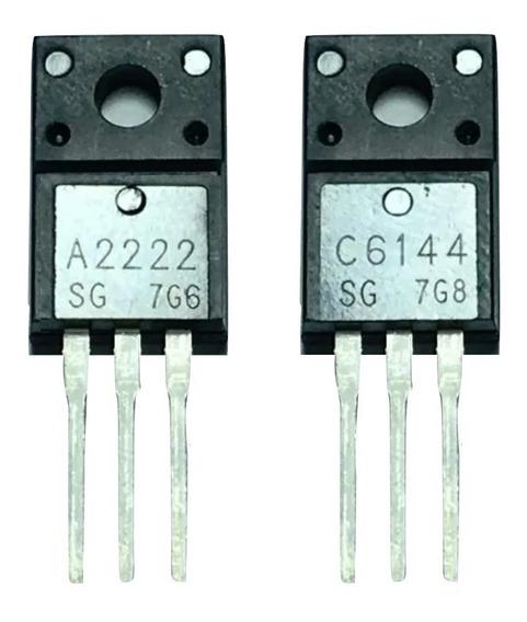 Transistor A2222 C6144 = 2sa2222 2sc6144 Epson - 2 Pares