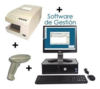 Impresora Epson Tmu375+lector It3800+soft+pc Y Monitor Combo