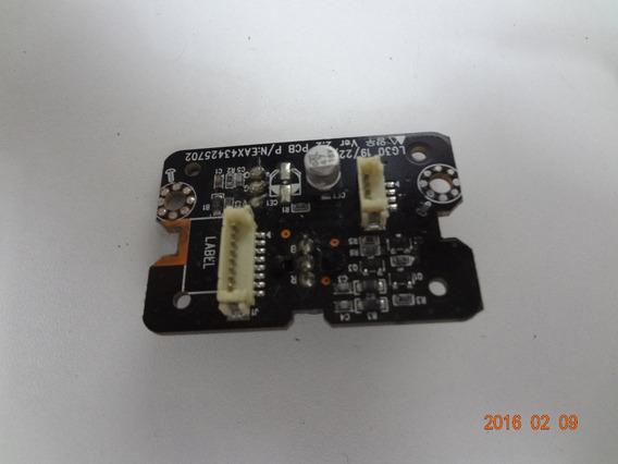 Placa Sensor Tv Monitor Lg 22lg30r