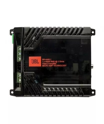 Módulo Amplificador Digital Jbl Br-a 400.1 Canal - 400 Wrms