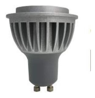 Dicroica Gu10 7w Led 30º 550lm Aluminio 220v 2 Años Garantia